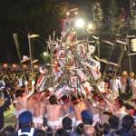 魚吹八幡神社『網干の提灯練り』