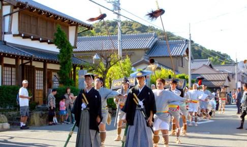 大名行列(杉森八幡社祭礼)