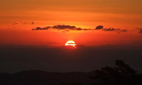 朝熊山・初日の出