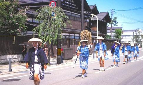 愛宕神社祭典大名行列
