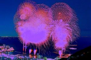 【夏季】熱海海上花火大会