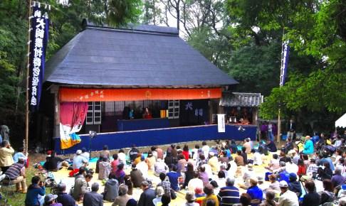 犬飼農村舞台『阿波人形浄瑠璃公演』