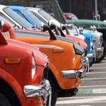 「昭和の町」レトロカー大集合