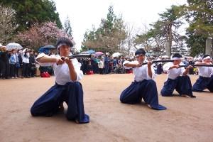 飯盛山『白虎隊慰霊祭』