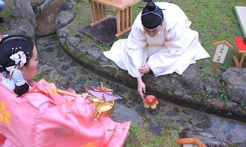 太宰府天満宮『曲水の宴』