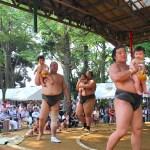 大相撲出羽海部屋「第18回笹川夏合宿」