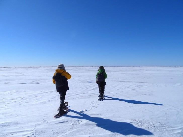 トドワラ・氷平線ウォーク