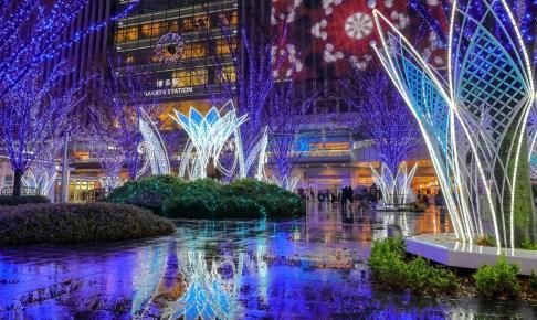JR博多シティ『光の街・博多』