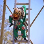 はしご獅子舞