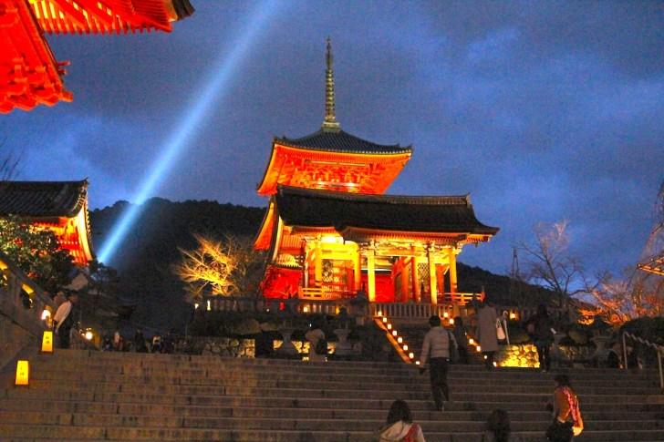 清水寺『夜の特別拝観・春』