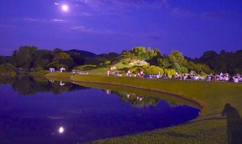 岡山後楽園『名月観賞会』