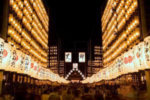 多賀大社・万灯祭