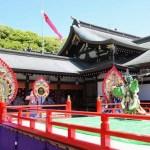 真清田神社『舞楽神事』