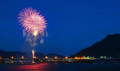 全国花火大会(長良川)