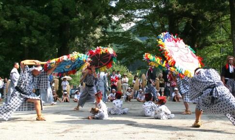 雲八幡宮『宮園楽(かっぱ祭り)』