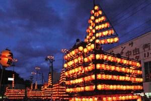 二本松の提灯祭り