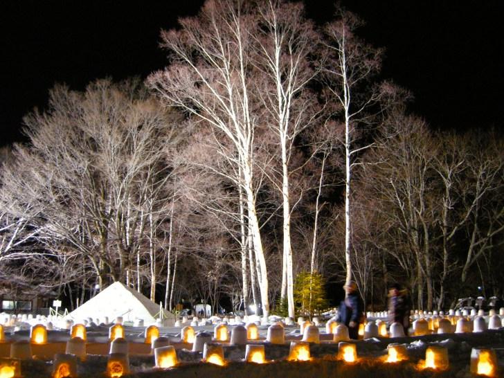奥日光湯元温泉『雪まつり2019 雪灯里』