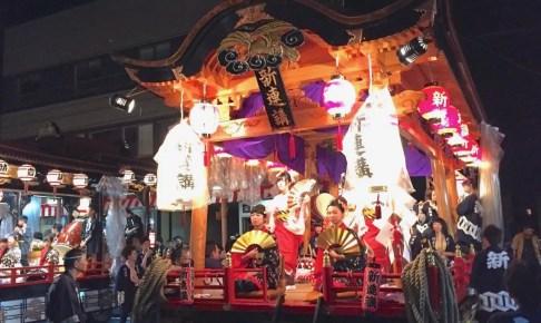 大館神明社祭典
