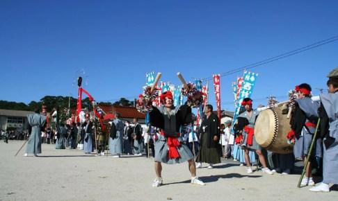 隠岐武良祭風流