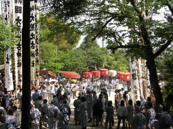 大荒比古神社『七川祭』
