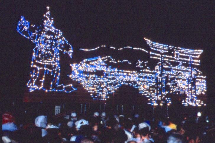 篠田神社例祭『篠田の花火』