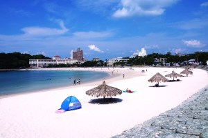 白良浜『海開き』