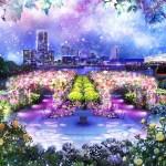 山下公園『SNOW ROSE GARDEN YOKOHAMA Directed by NAKED』