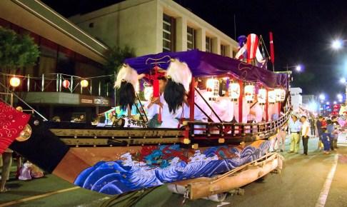 住吉神社神幸祭『お船謡』