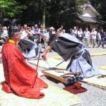 下新川神社『すし切り祭り』