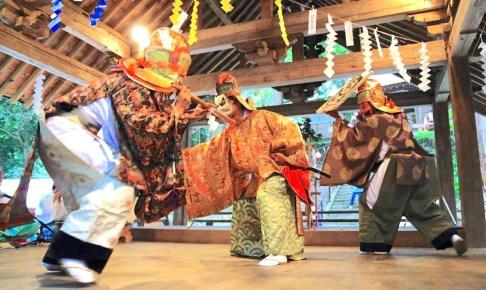 武田八幡宮祭典