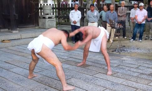 玉祖神社例大祭『占手神事』