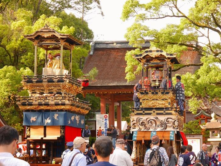 尾張津島天王祭の車楽舟行事