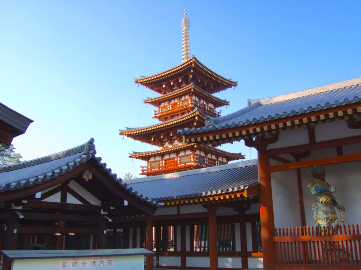 世界遺産に登録される薬師寺