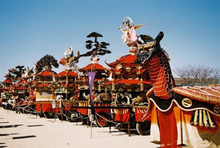八代妙見祭の神幸行事