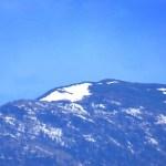 蝶ヶ岳「蝶」雪形