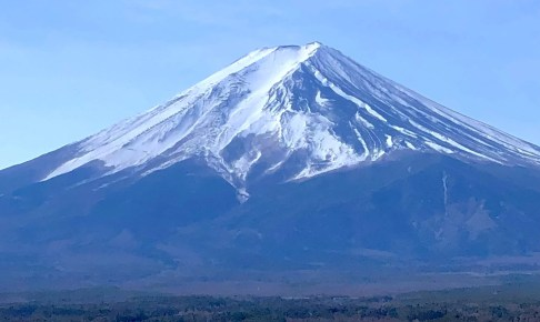 富士山「農鳥」雪形