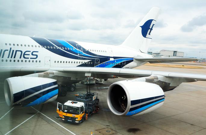 マレーシア航空A380 ビジネスクラス搭乗記 クアラルンプール=ロンドン