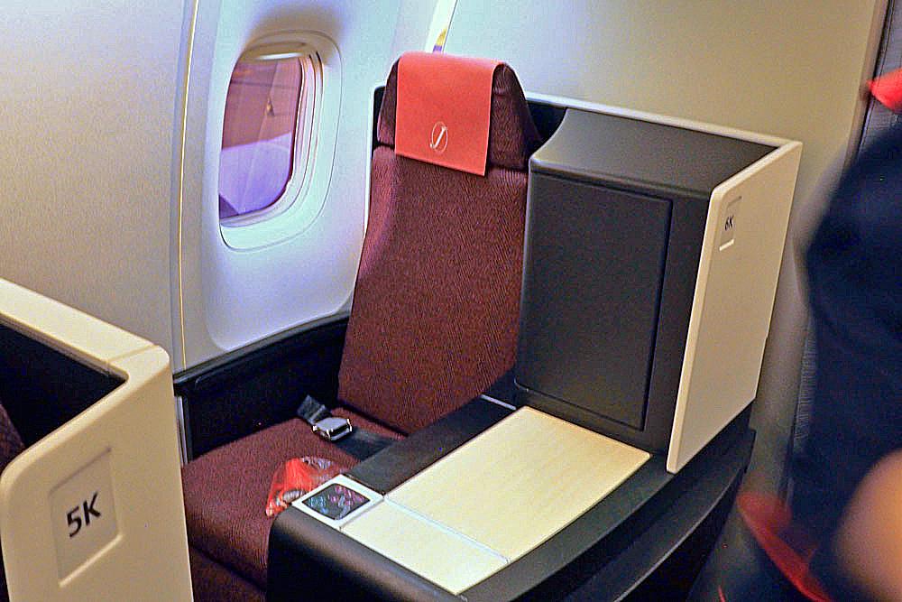 【クラスJ】お得に国際線ビジネスクラスを体験 JAL3007便 成田⇒伊丹