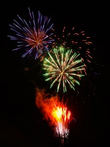 毛呂山の花火