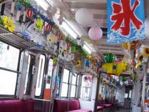 お祭り電車