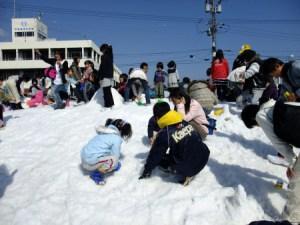 商工祭 南の国の雪まつり