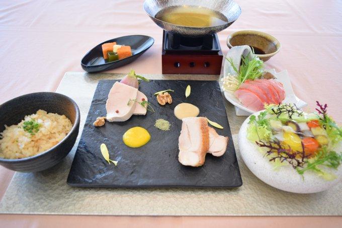 富士山麓・水と緑の彩り膳