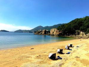 仙酔島砂風呂