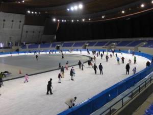 長野市オリンピック記念アリーナ エムウェーブ