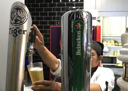 生ビールの機械
