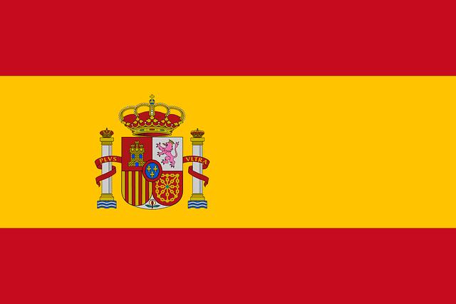 スペイン国旗画像