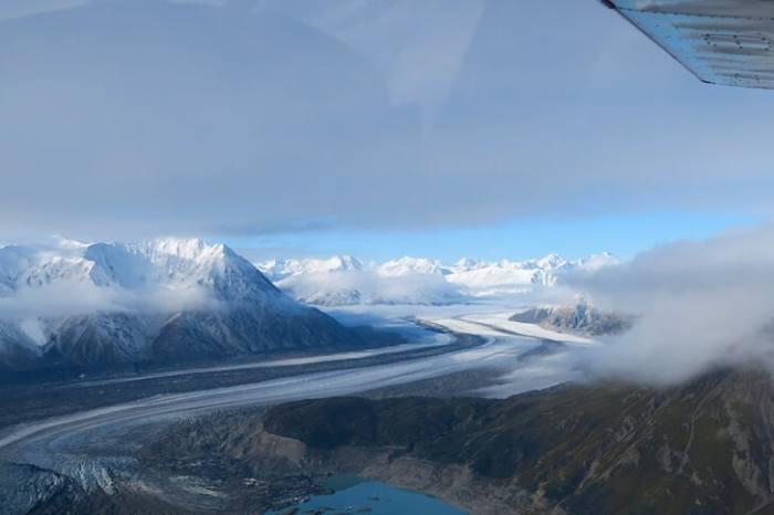 カナダの大氷河