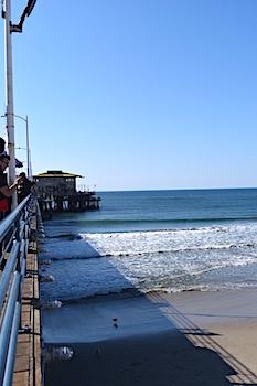 ロサンゼルスのビーチ