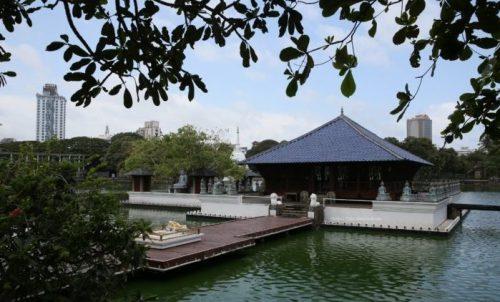 シーママラカヤ寺院の外観画像