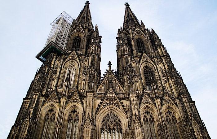 ケルン大聖堂の外観画像